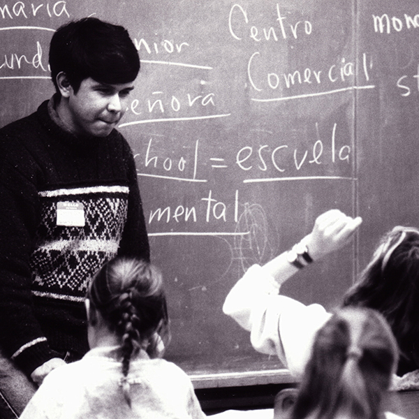 Carlos Teaching
